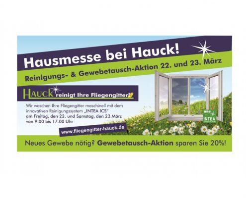 c95a7dcb37d9f8 März 2019 - Hausmesse mit Reinigungs- und Gewebetausch-Aktion